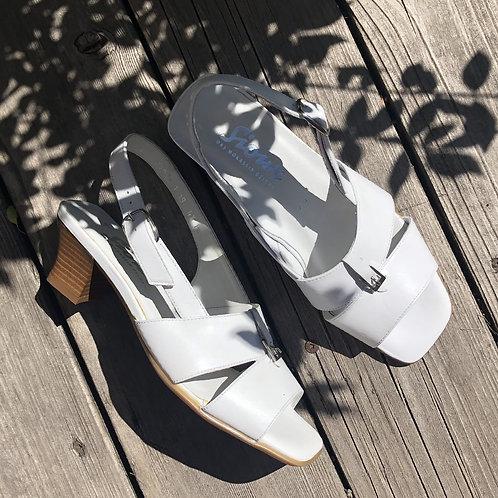 Sandale blanche Sioux