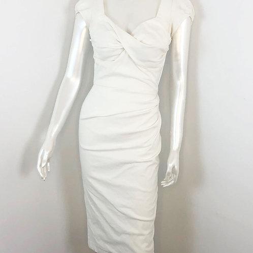 Robe Stop Staring Blanc - Large