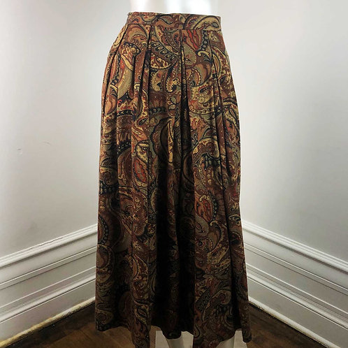 Pantalons Capri Paisley Vintage - Medium
