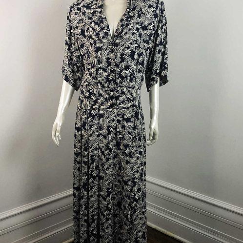 Robe Vintage 1990's Mr Smith Taille Basse - Medium