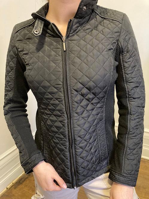 Manteau noir Johnston Murphy Size S
