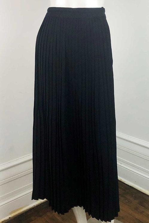 Jupe Plissé Vintage Noir - Medium