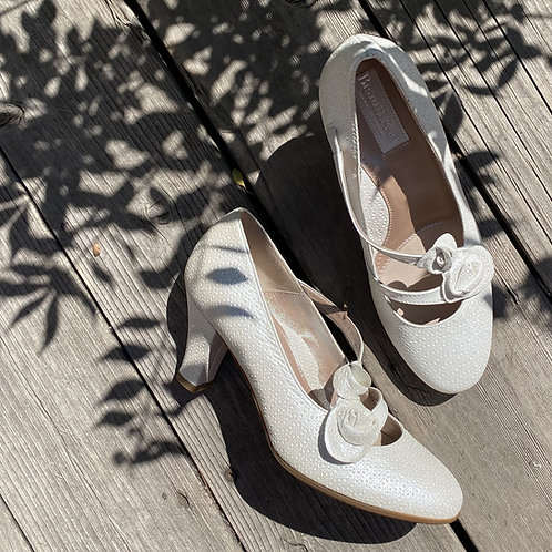 Chaussure blanche BeautiFeel  Made in Isarel