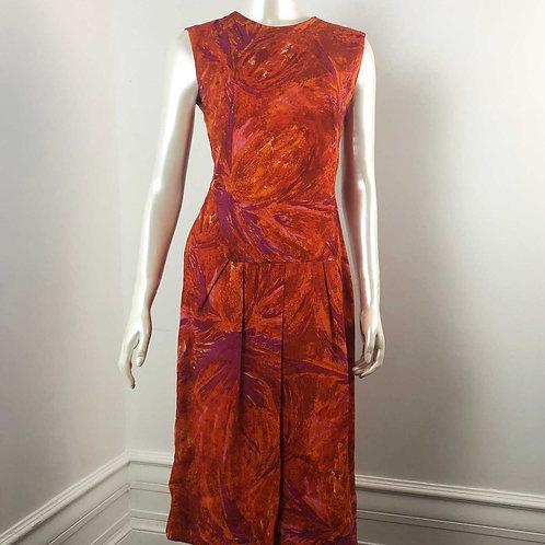 Robe Vintage Elisabeth Vincent - Medium