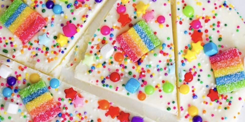 6-7pm Choc. Rainbow Bark & Walnut Cookies