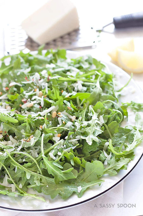 Arugula and Baby Kale Salad