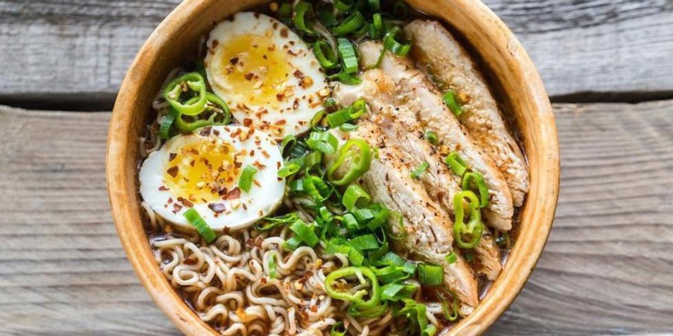 5:30-6:30pm Chicken Miso Ramen