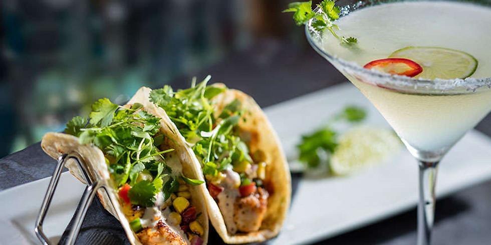 Cinco De Mayo Fiesta Tacos & Margaritas! (serves 2-3)