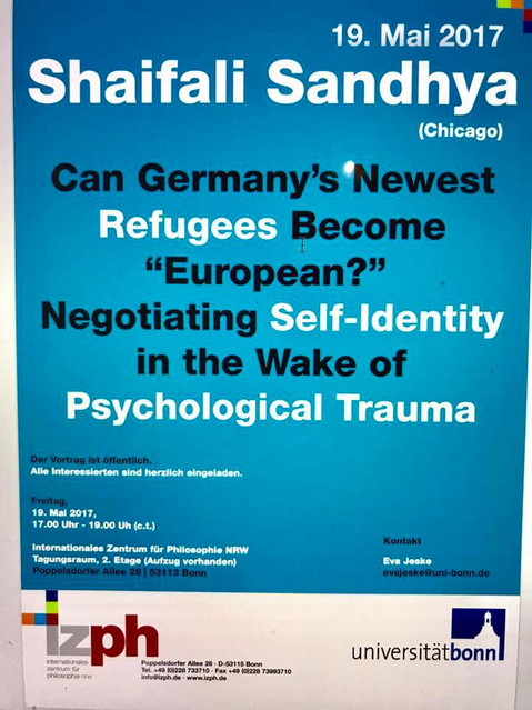 """Can Germany's Newest Refugees """"Become European""""?: Negotiating Self-Identity In The Wake Of Psycholog"""