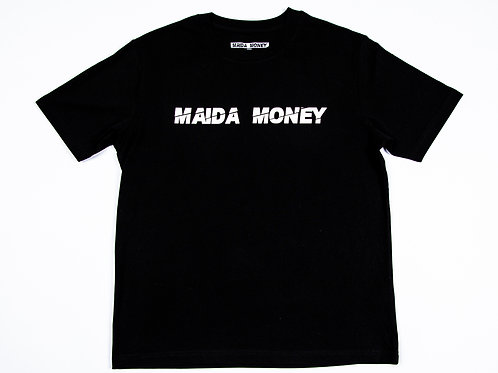 MAIDA MONEY Original Oversized  BLACK T-Shirt