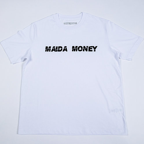 MAIDA MONEY Original Oversized WHITE T-Shirt