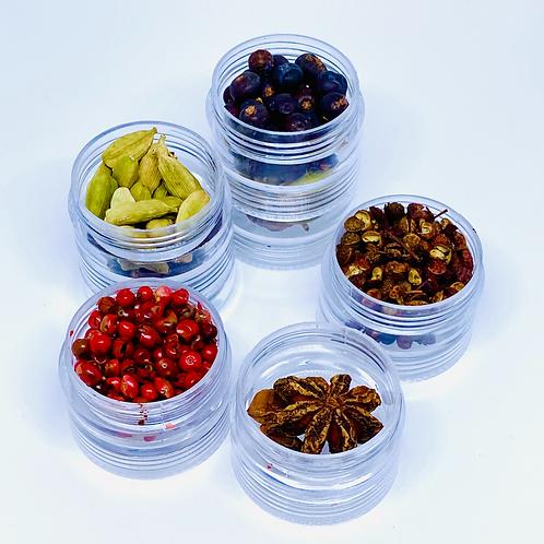 Set of 6 GinGin Botanicals