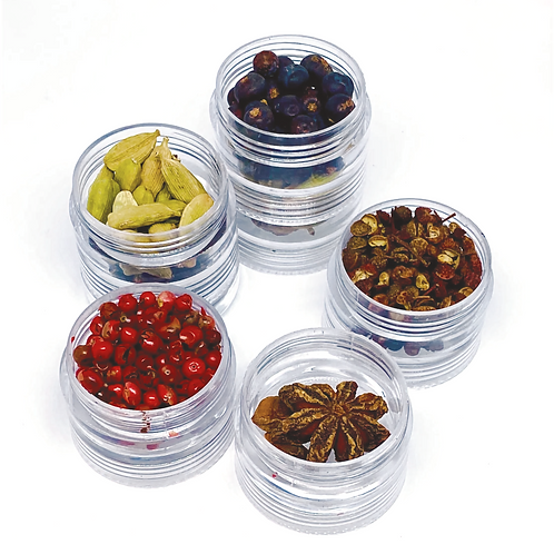 Set of 5 GinGin Botanicals