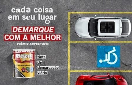 TINTAS PARA DEMARCAÇÃO VIÁRIA (premiada na ARTESP por 5 anos consecutivos)...