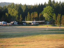CWAA Mike landing on June 30, 2015