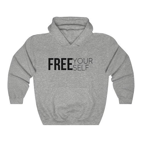 """FREE Yourself"" Unisex Heavy Blend™ Hooded Sweatshirt"