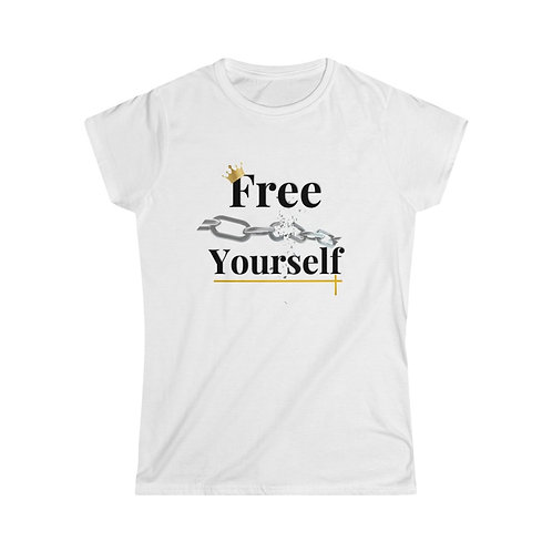 """Free Yourself""  Women T-Shirt"
