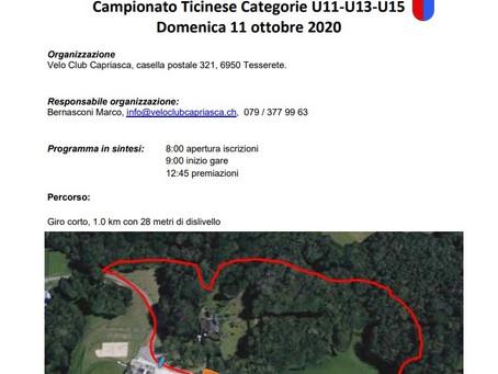 Gran Premio VC Capriasca campionato ticinese di MTB