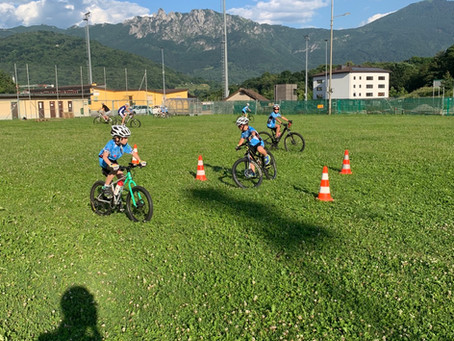 Anche i piccoli tornano a pedalare