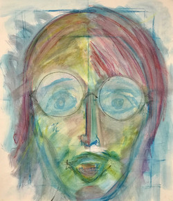 portrait aquarell stifte