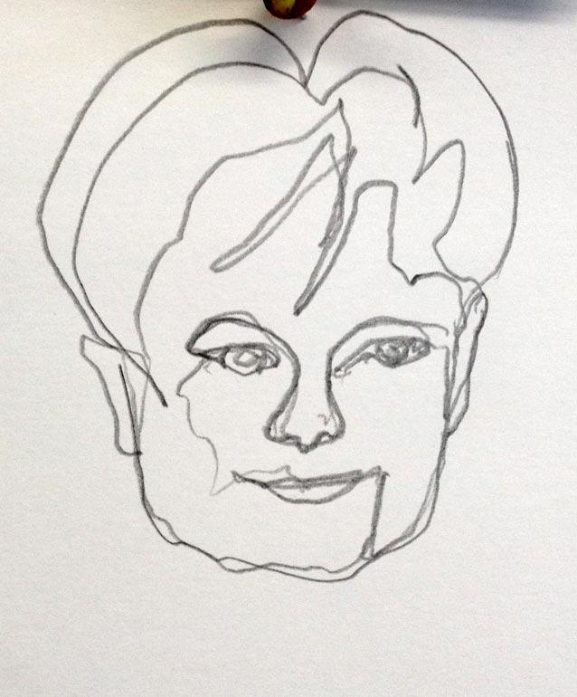 sketch eine Linie