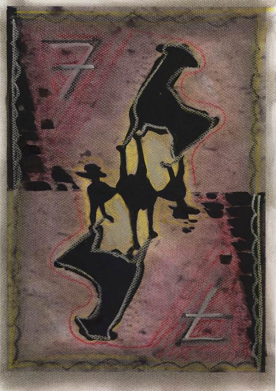 Sieben Karte