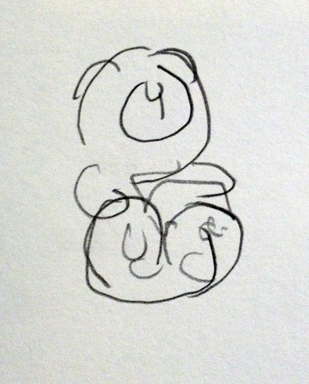 sketch paar sekunden