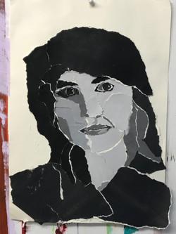 portrait reissen collage