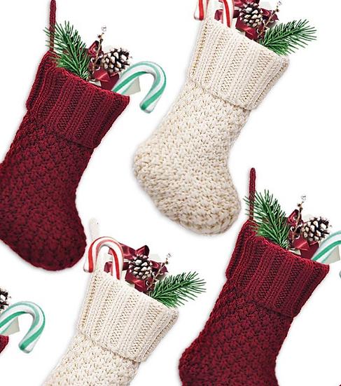 Tiny Knit Stocking Add-On