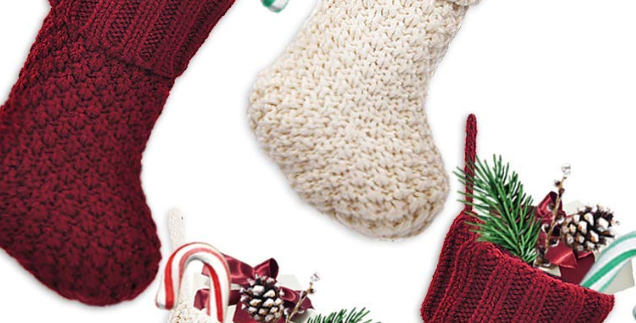 Tiny Knit Stocking Add-On