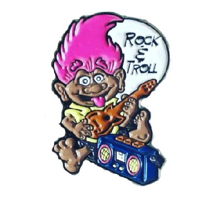 Rock & Troll Pin
