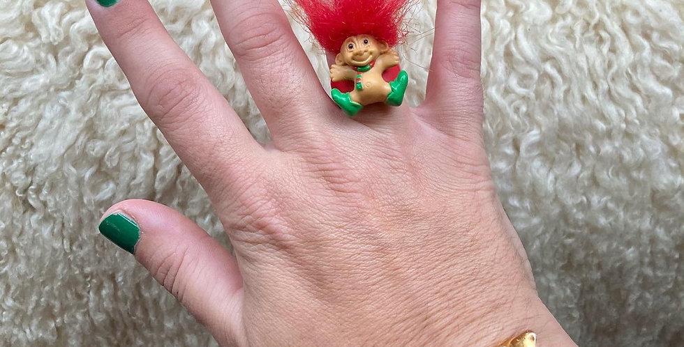 Christmas Troll Ring