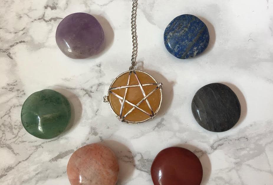 Chakra Pendulum Set