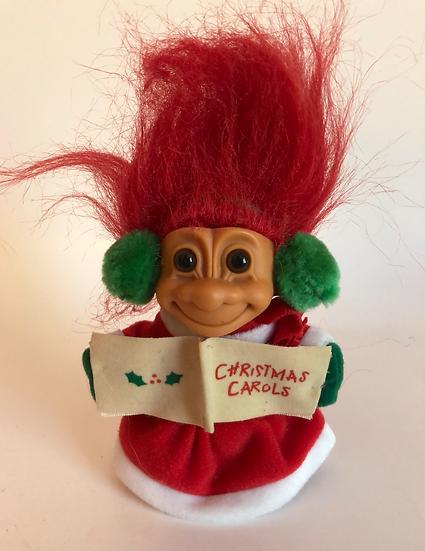 Christmas Caroling Troll
