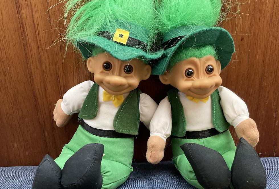 Plush Leprechaun St. Patrick's Troll