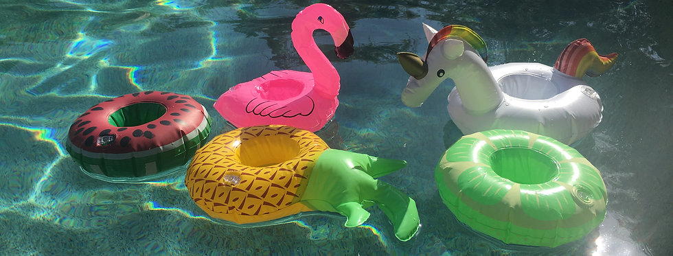 Crystroll Pool Floatie/Cup Holder
