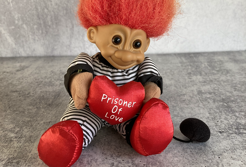 Prisoner Of Love Plush Troll