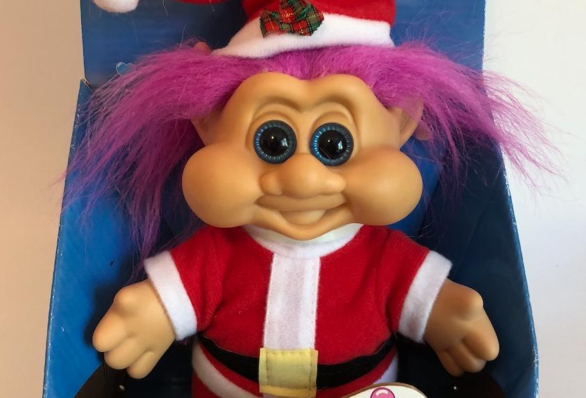 Lucky Santa Troll