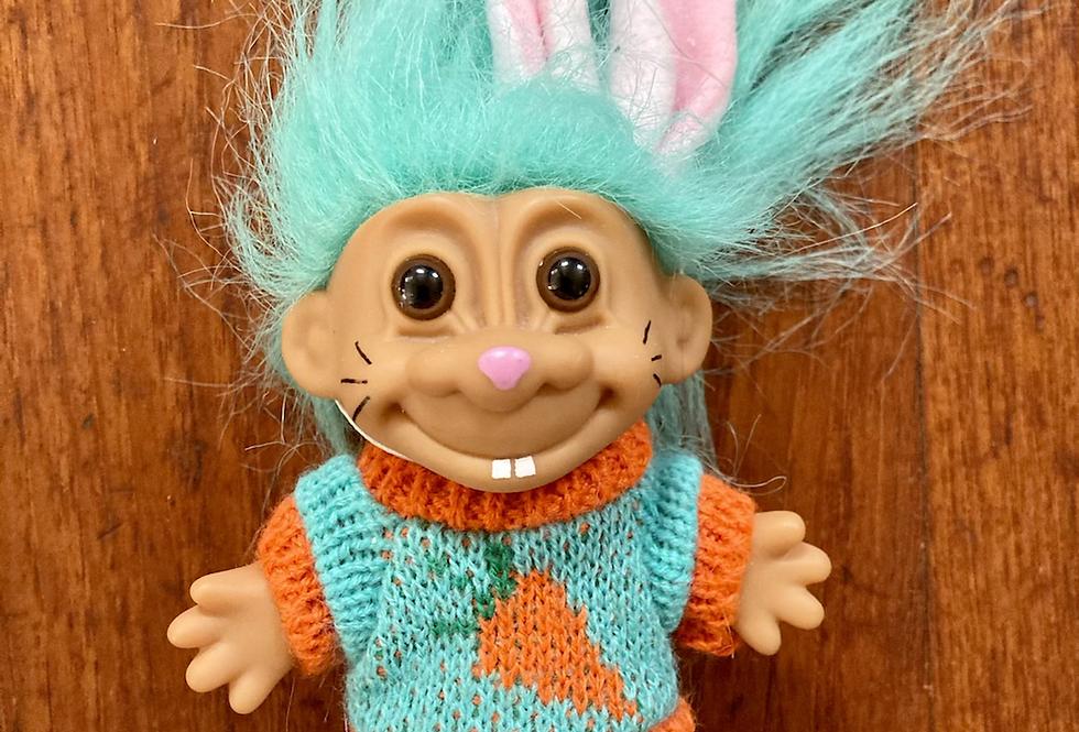 Vintage Easter Bunny Troll
