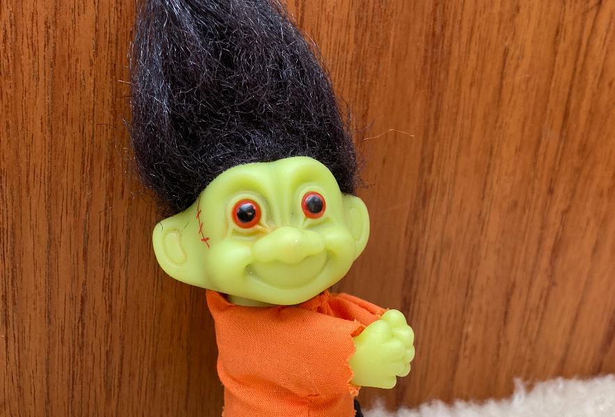 Climbing Frankenstein Troll