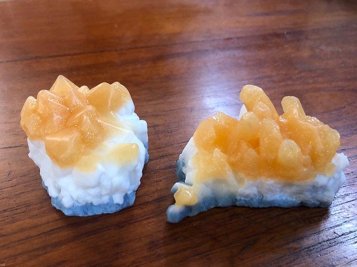 Citrine Crystal Soap Cluster
