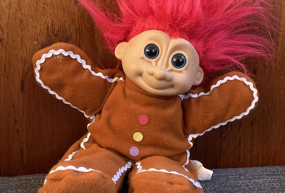 Gingerbread Plush Troll