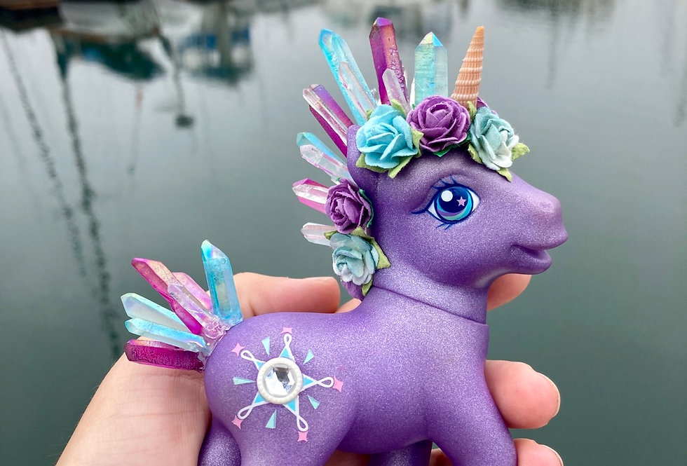 Custom My Crystal Pony for Lisa