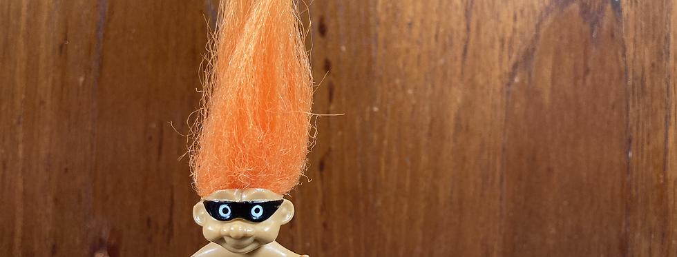Halloween Troll Pencil Topper