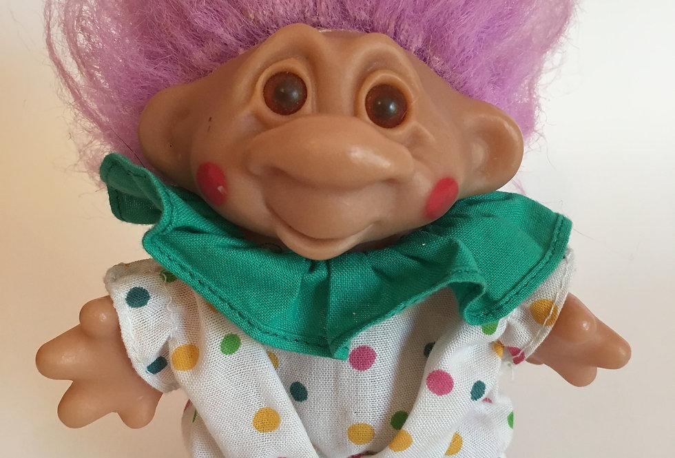 Purple Clown Troll