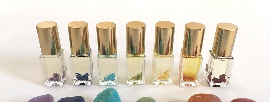Set of 7 Chakra Rollers