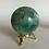 "Thumbnail: Green Fluorite Sphere 2"""