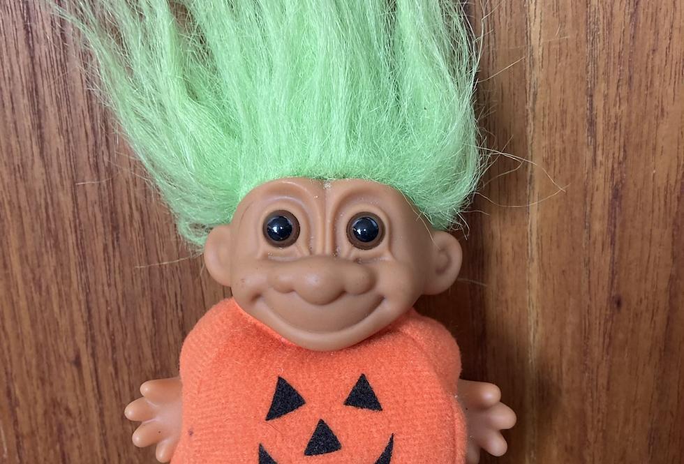 Pumpkin Costume Troll