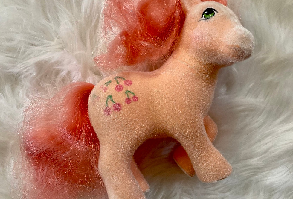 Fuzzy Cherries Jubilee - Design Your Own My Crystal Pony