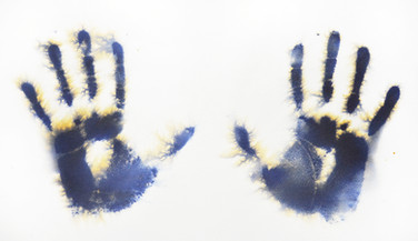 The Text:Hands print